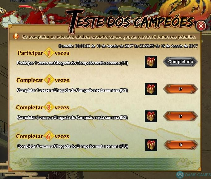 TesteDosCamp
