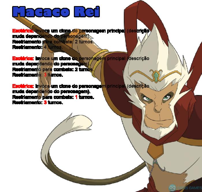 10 - macaco rei