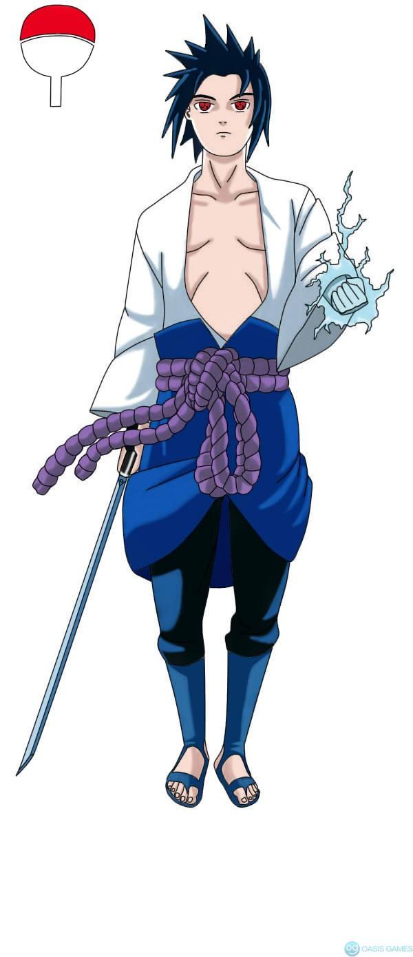 Uchiha Sasuke - Naruto 002