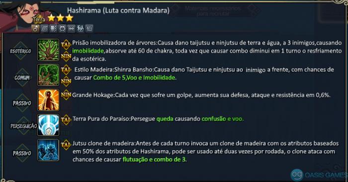 Hashirama Luta Contra Madara