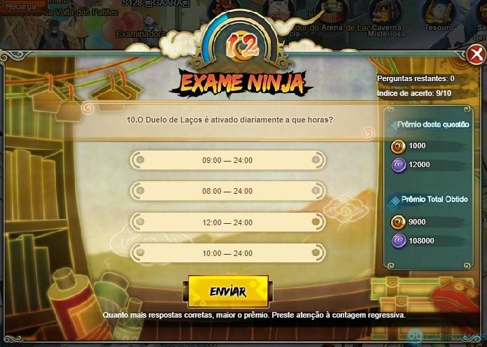Exame Ninja