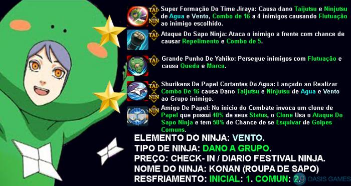 KONAN ROUPA DE SAPO