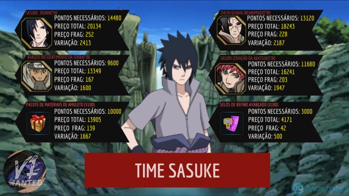 TIME SASUKE