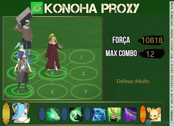 konoha proxy 2