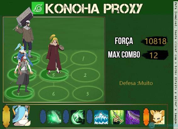 konoha proxy 1