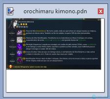 orochimaru kimono