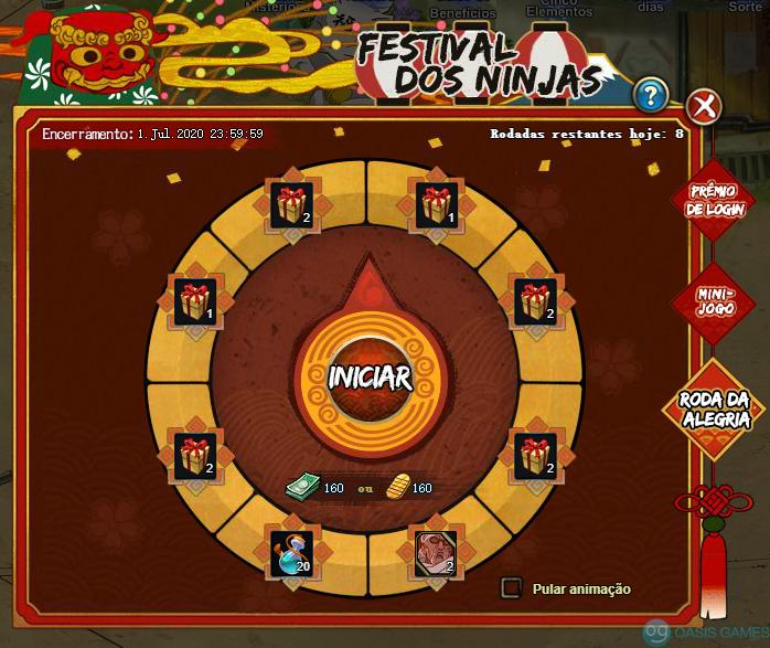 Festival dos Ninjas 2