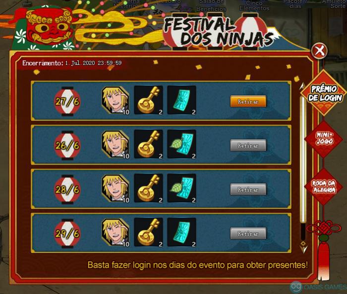 Festival dos Ninjas 3