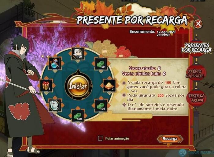PresentePorRecarga