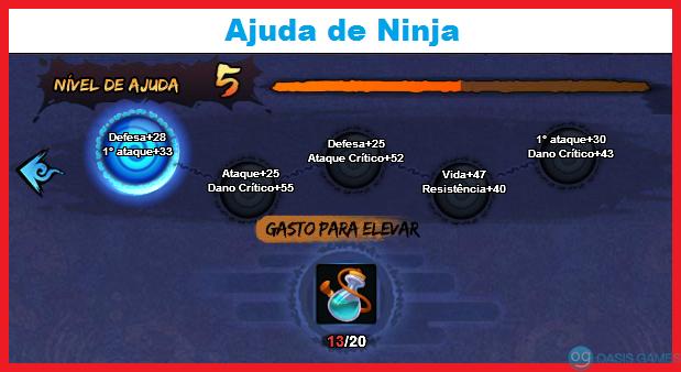 Ajuda de Ninja