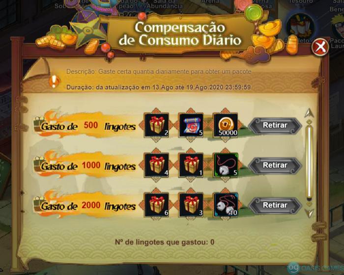 CompensaçãoDoConsumoDiario