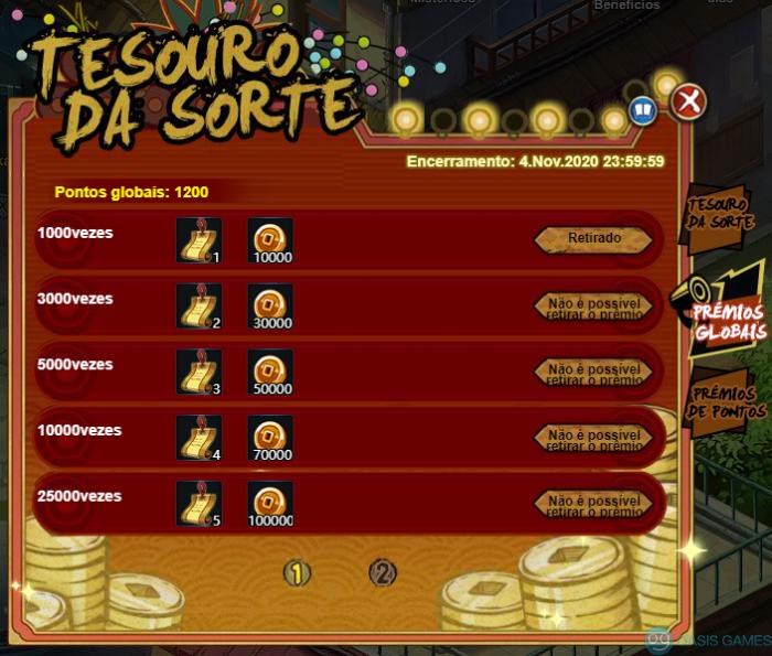 Tesouro da Sorte-2-Update