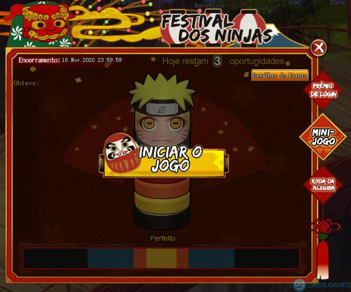 Festival dos ninjas martelinho
