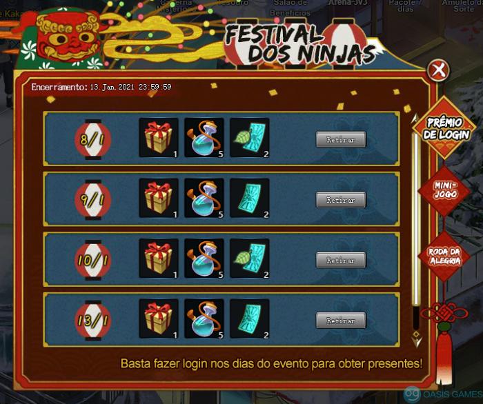 Festival dos ninjas