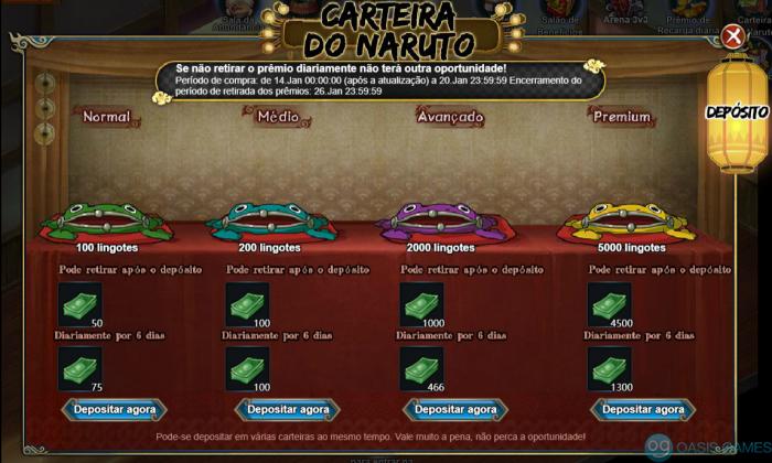 Carteira do Naruto