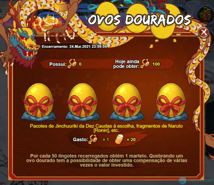 Ovos dourados