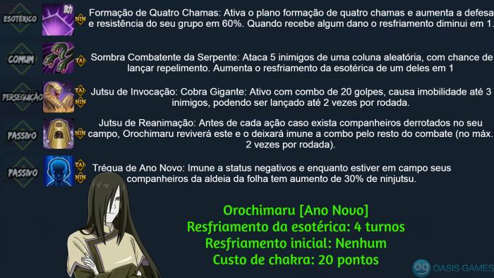 Orochimaru New Year