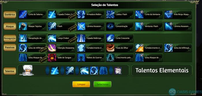 comp 2 talentos