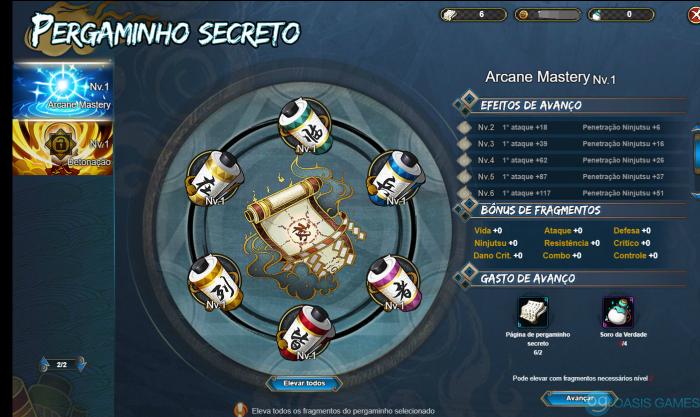 Pergaminho Secreto Novo