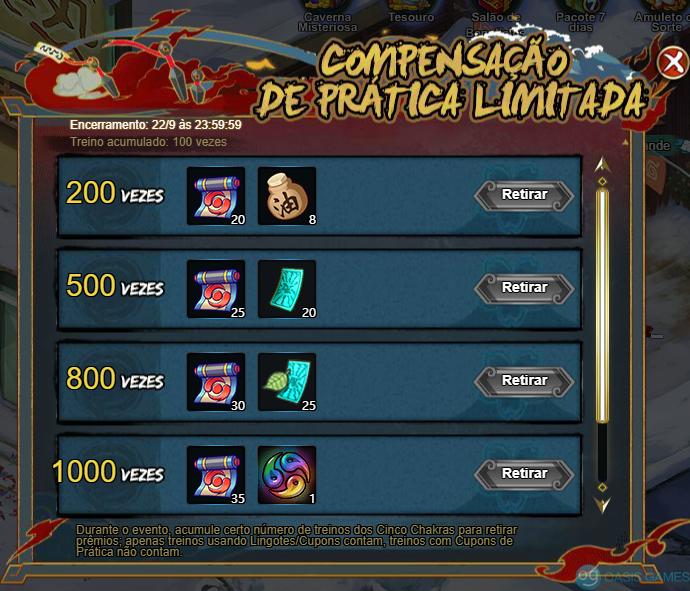 Compensação de amuletos